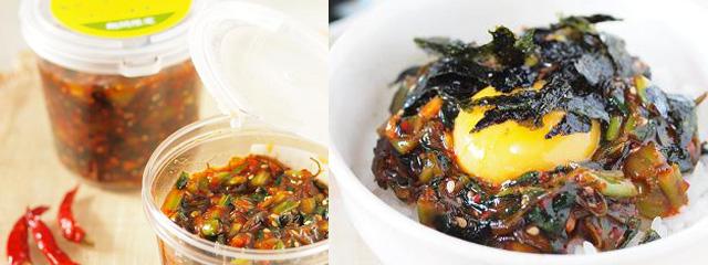 韓国風野沢菜昆布キムチ味